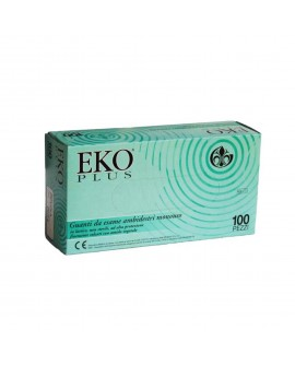 Eko Plus latex gloves