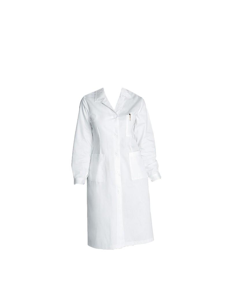 Bycloth Riutilizzabile Uniforme chirurgica Medico ospedaliero Abbigliamento da Lavoro Uniforme Chirurgico di Isolamento Abito con Elastico Cuff Cotone Strati protettivi con Maniche Lunghe
