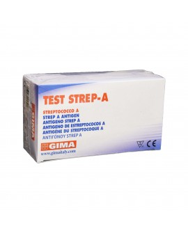 Test Strep-A Card